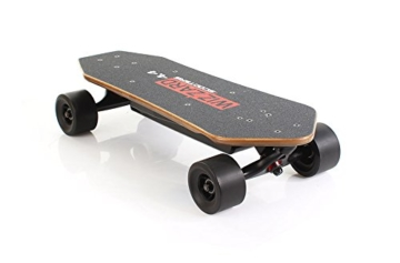 elektrisches longboard wizzard 4 4 city skateboard elektro. Black Bedroom Furniture Sets. Home Design Ideas