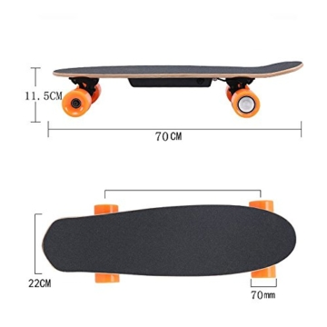 kinder 4 rad elektro skateboard. Black Bedroom Furniture Sets. Home Design Ideas