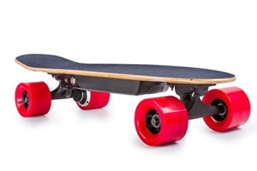 Paradox 600W Electric Skateboard 28 inch Cruiser Bambus Elektro-Skateboard Elektro-Hotspot E-Wheelin i3 plus Electric Longboard -