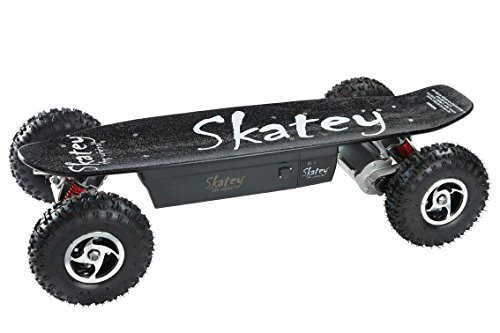 skatey 800w black offroad elektrisches longboard. Black Bedroom Furniture Sets. Home Design Ideas