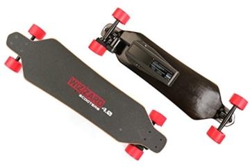 skateboard  von unten