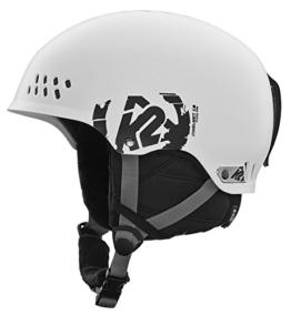 K2 Herren Skihelm Phase Pro, M, White -