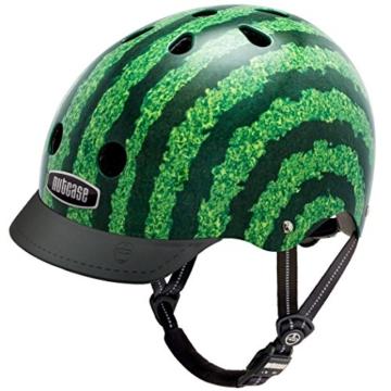 Nutcase Gen3 Bike und Skate Helm, Watermelon, M, NTG3-2044 -
