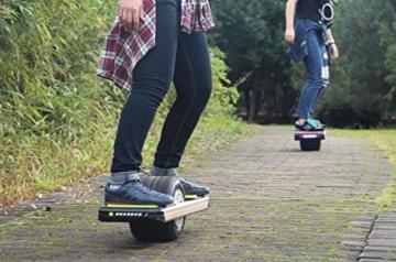 Trotter onewheel Elektrische Offroad Surfboard-/Skateboard: 211WH blau Version -