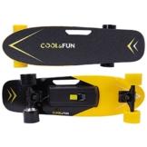 cool fun elektro skateboard test