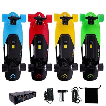 cool fun elektro skateboard farben