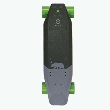 Acton Elektro-Skateboard, Schwarz L schwarz - 1