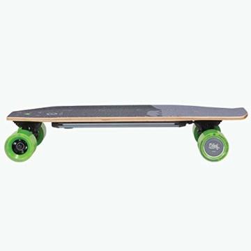 Acton Elektro-Skateboard, Schwarz L schwarz - 3