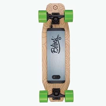 Acton Elektro-Skateboard, Schwarz L schwarz - 4