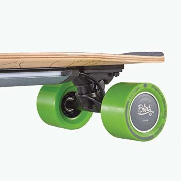 Acton Elektro-Skateboard, Schwarz L schwarz - 5