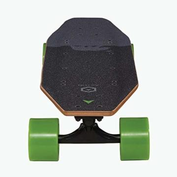 Acton Elektro-Skateboard, Schwarz L schwarz - 6