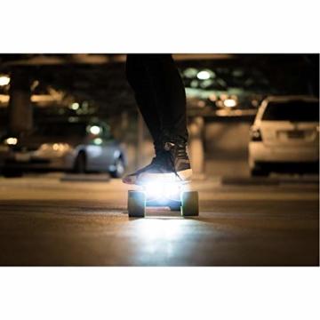 Acton Elektro-Skateboard, Schwarz L schwarz - 8