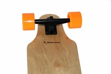 Airel Skateboard Elektrisch | Skateboard Elektrisch Erwachsene | Motorleistung: 250 W. | Elektro Longboards mit Fernbedienung - 2