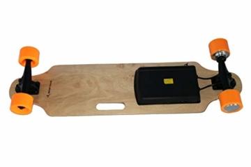 Airel Skateboard Elektrisch | Skateboard Elektrisch Erwachsene | Motorleistung: 250 W. | Elektro Longboards mit Fernbedienung - 4