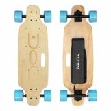 Nilox DOC Skate E-Skateboard, Sky Blue, 75 x 23 x 13 - 1