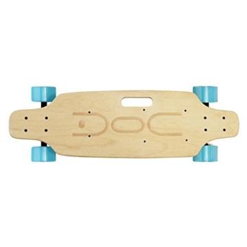 Nilox DOC Skate E-Skateboard, Sky Blue, 75 x 23 x 13 - 2