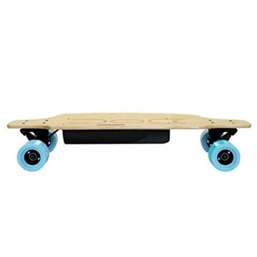 Nilox DOC Skate E-Skateboard, Sky Blue, 75 x 23 x 13 - 3