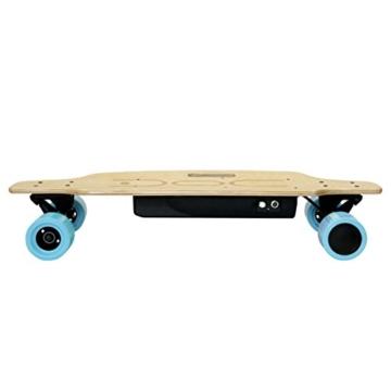 Nilox DOC Skate E-Skateboard, Sky Blue, 75 x 23 x 13 - 4