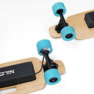 Nilox DOC Skate E-Skateboard, Sky Blue, 75 x 23 x 13 - 5