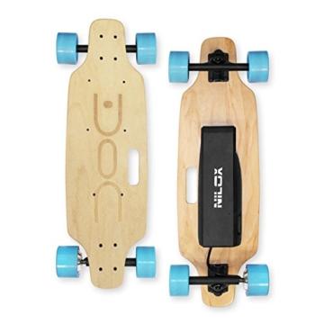 Nilox DOC Skate E-Skateboard, Sky Blue, 75 x 23 x 13 - 7