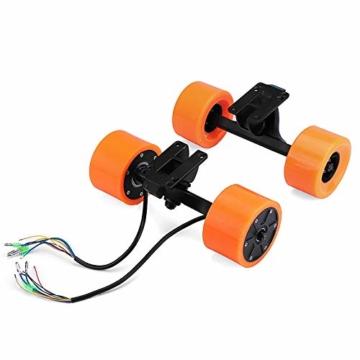 Pinkfishs 550W 90MM 6364 Dual-Hub-Burstenloses Motor Antriebs-Rad-Kit fur Elektro-Skateboard-Longboard - - 3