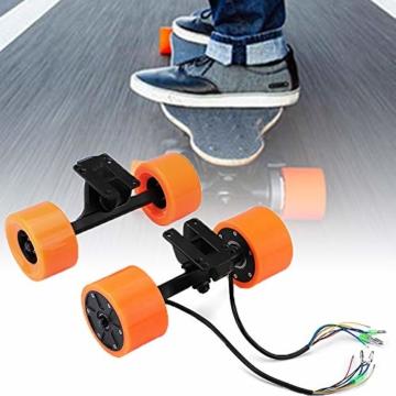 Pinkfishs 550W 90MM 6364 Dual-Hub-Burstenloses Motor Antriebs-Rad-Kit fur Elektro-Skateboard-Longboard - - 1