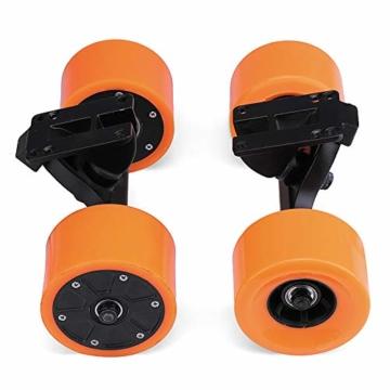 Pinkfishs 550W 90MM 6364 Dual-Hub-Burstenloses Motor Antriebs-Rad-Kit fur Elektro-Skateboard-Longboard - - 5