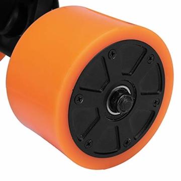 Pinkfishs 550W 90MM 6364 Dual-Hub-Burstenloses Motor Antriebs-Rad-Kit fur Elektro-Skateboard-Longboard - - 6