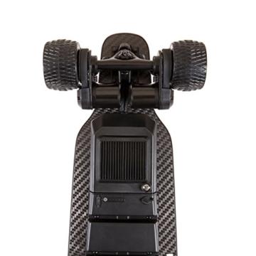 """Slick Revolution Elektro-Skateboard, 2x 1200W Motoren, grobe Rollen, 35Km/h Höchstgeschwindigkeit,""""8–10-mile""""-Serie, Carbon Fibre Deck - 5"""