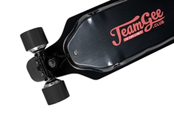 Teamgee H1Elektrisches Longboard Motorisierte Skateboard mit Fernbedienung von Teamgee, UK Adapter - 2