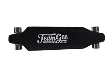 Teamgee H1Elektrisches Longboard Motorisierte Skateboard mit Fernbedienung von Teamgee, UK Adapter - 5