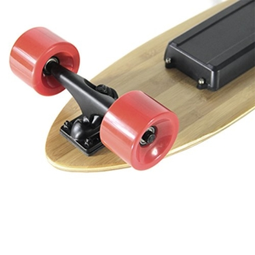 Teamgee H3Elektrisches Longboard Motorisierte Skateboard mit Fernbedienung von Teamgee, UK Adapter - 4