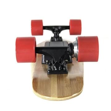 Teamgee H3Elektrisches Longboard Motorisierte Skateboard mit Fernbedienung von Teamgee, UK Adapter - 6