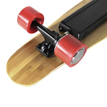 Teamgee H3Elektrisches Longboard Motorisierte Skateboard mit Fernbedienung von Teamgee, UK Adapter - 8