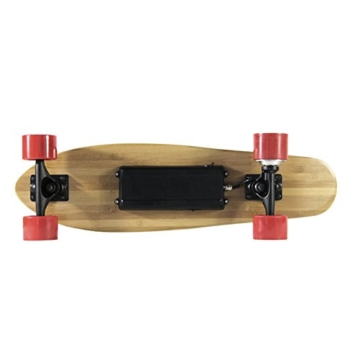 Teamgee H3Elektrisches Longboard Motorisierte Skateboard mit Fernbedienung von Teamgee, UK Adapter - 9