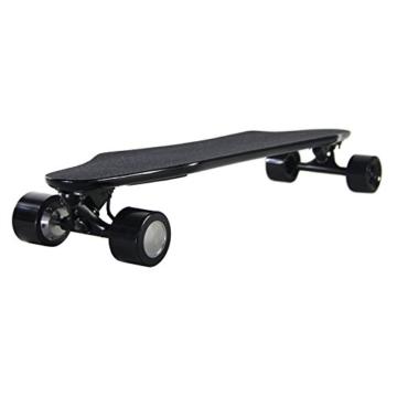 Teamgee H5Elektrisches Longboard Motorisierte Skateboard mit Fernbedienung von Teamgee, UK Adapter - 4