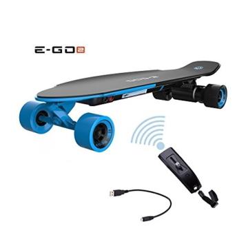 Yunnec EGO 2 E-Longboard Royal Wave inkl. Zubehör Elektro Longboard E-GO 2 - 1