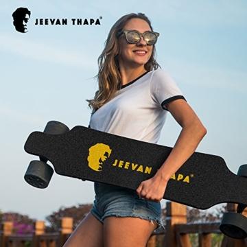 Jeevan Thapa Elektro Skateboard 2nd Generation by koowheel