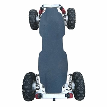 DYHQQ Elektrisches Skateboard oben