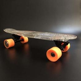 YUN GAME LED Elektro-Skateboard